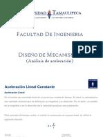 02 PRESENTACION DISEÑO DE MECANISMOS (Análisis de aceleracion)
