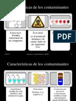 Semana 2 (Caracteristicas de los contaminantes)