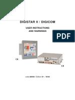 DIGISTAR II - GF-BOX User manual