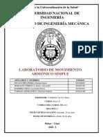 Lab 02 - MOV. ARMÓNICO SIMPLE - SEC C - GRUPO 01 - INCACUTIPA - MORALES - VARGAS - RAMIREZ