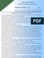 DCRP-Boletim de Informação Interna 03-11