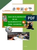 Guía didáctica para crear un Blog Educativo