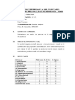 Informe Psicologico MMPI