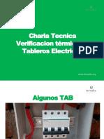 Verificacion Termica de Tableros Electricos - Charla Tecnica