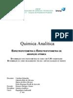 Relatório de Química Analítica