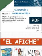Lenguaje clase nº6 conocer caracteristicas del afiche