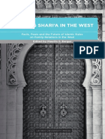 Applying Shari ̔a in the West Facts, Fears and the Future of Islamic Rules on Family Relations in the West-MBerger
