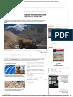 ProChile capacitará a empresas proveedoras sobre desarrollo y perspectivas del sector minero en Canadá - Minería Chilena