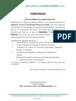 carta conformidad Empresa