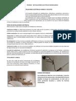 INSTALACIONES ELÉCTRICAS VISIBLES Y OCULTAS