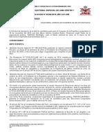 Resolución JEE LC - Partido Morado