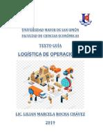 texto de logistica de operaciones MESA 2020