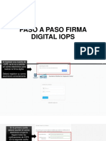 PASO A PASO FIRMA DIGITAL IOPS