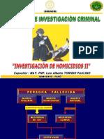 Expo Huancayo - Homicidios II