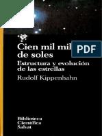 Rudolf Kippenhahn - Cien mil millones de soles