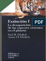 Paul R. Ehrlich & Anne H. Ehrlich - Extincion