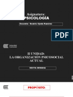 SEXTA SEMANA PSICOLOGIA - 2020