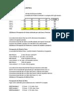 Caso Agapanthus - Presupuesto y GYP-1