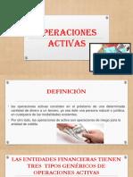 OPERACIONES ACTIVAS-Diapositivas