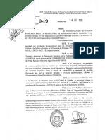 D 949.20 Adhesión protocolo para ALOJAMIENTOS