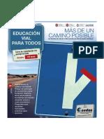 Educación y seguridad vial  fascículo 2