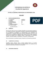 MODELO DE SILABO Analítico