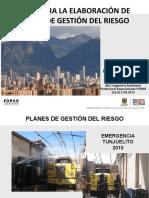 P. PLANES GESTION DEL RIESGO