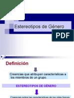 Estereotipos de Género Julia Pérez