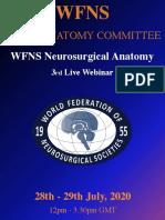 WFNS Neuroanatomy Committee 3rd Webinar(1)