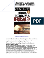 Cuenta Regresiva a Jerusalén Spanish Edition by John Hagee - 5 Star Review