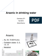 Arsenic in Drinking Water - E. Sormo