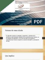 SISTEMA DE SUMA ALZADA Y PRECIOS UNITARIOS