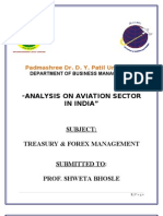 Final Analysis on Aviation Sector in India