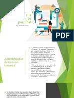 Introducción a la administración de personal (1)