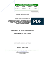 Hallazgos Contraloría ESE Salud - D-0669 Infofinal GRI ESE Salud Pereira