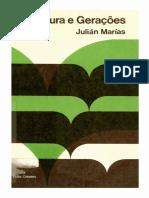 Julián Marías - Literatura e Gerações