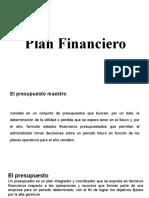2 sesión Plan financiero