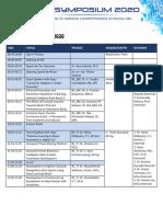 english SGU Symposium 2020 Rundown(1)