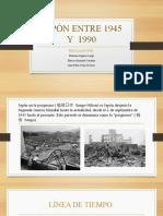 JAPÒN ENTRE 1945 Y  1990