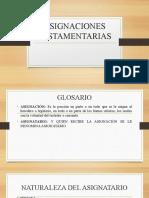 ASIGNACIONES TESTAMENTARIAS.pptx