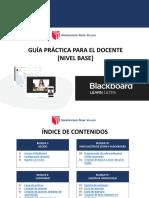 Blackboard UCV - Guia Practica para docente (nivel base).pdf