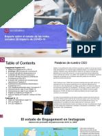 Socialbakers COVID Impact report - Spanish Version