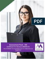 Assessment Pack_ICTWEB201_OD