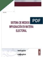 Sistema de medios de impugnacion en materia Mtro. Hector Daniel Garcia Figueroa