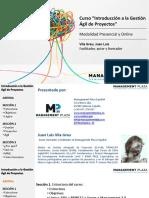 Sesión 1 Diseñar proyectos de manera participativa con el Enfoque del Marco Lógico