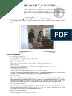 Picture Description Guidelines