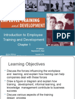 Ch 1 Introduction to Employee  Training and Development by Noe