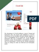 CocaCola Consumer Behavior