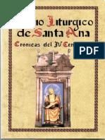Villamartín. Oficio litúrgico de Santa Ana. Don Enrique holgado Caro