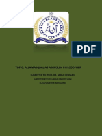 ALLAMA IQBAL AS A MUSLIM PHILOSOPHER.pdf